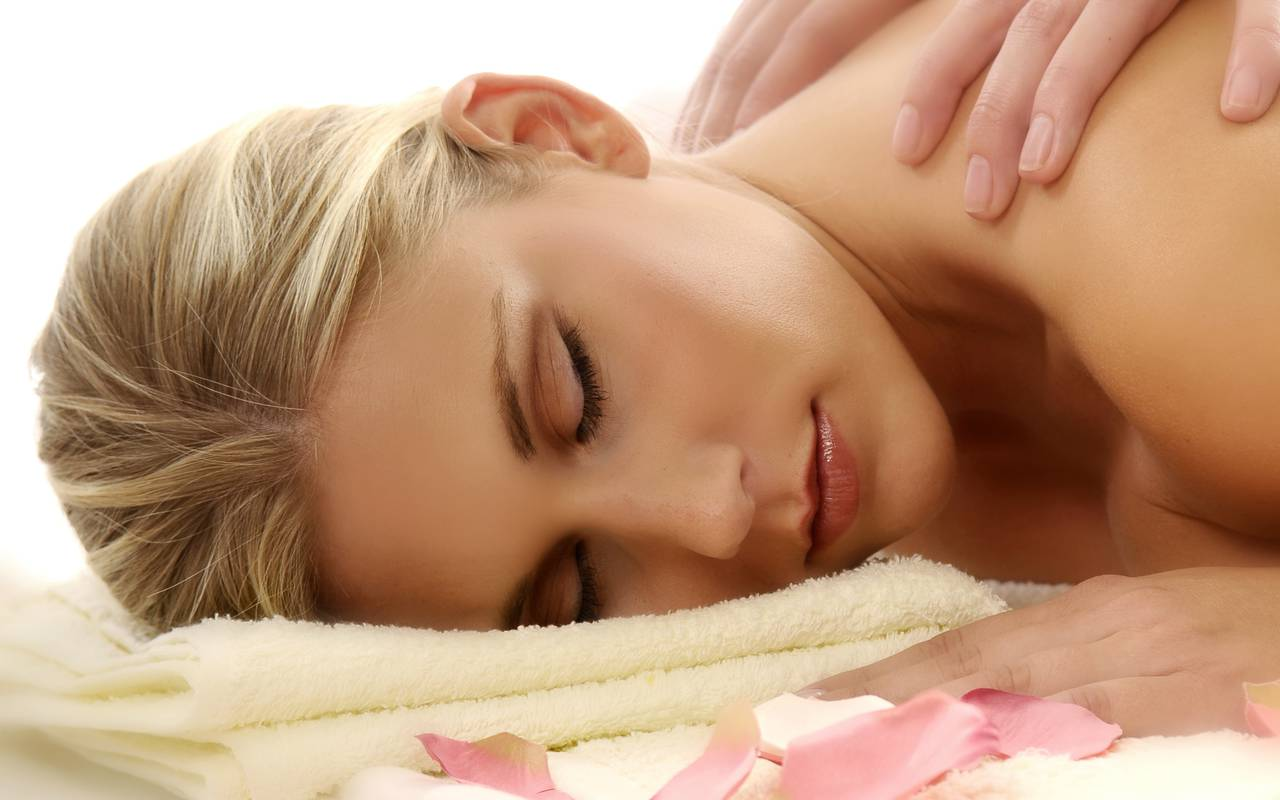 Massage, hotel spa Provence, Hôtel Les Bories