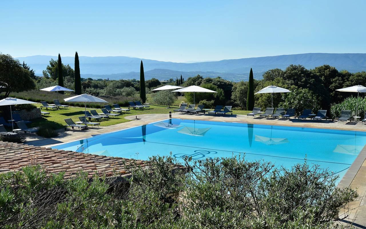 Hôtel 5 étoiles avec piscine dans le Luberon en Provence