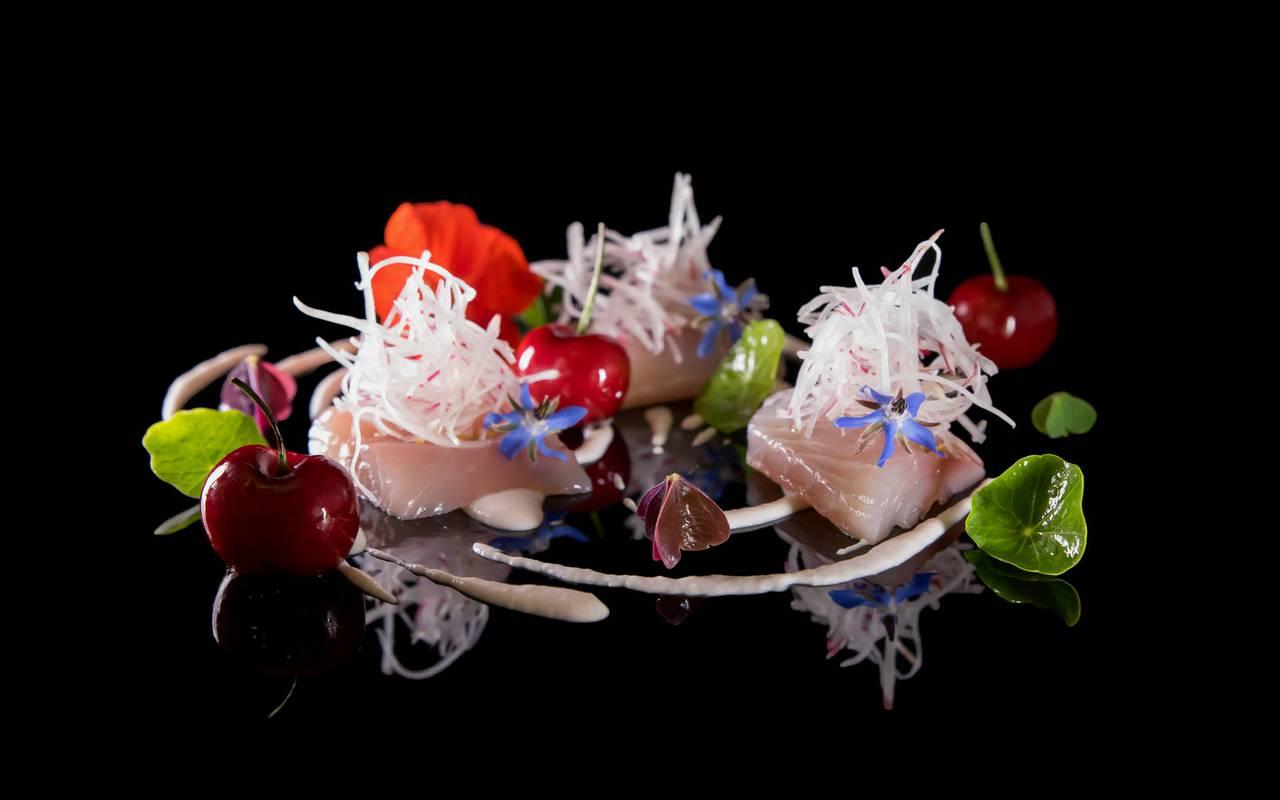 Restaurant gastronomique dans un hôtel 5 étoiles à Gordes