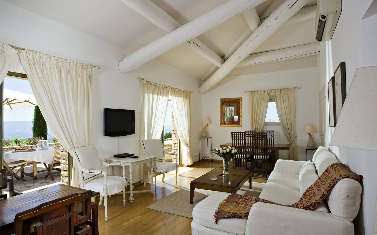 Hôtel Les Bories chambre pour vacances dans le sud de la France
