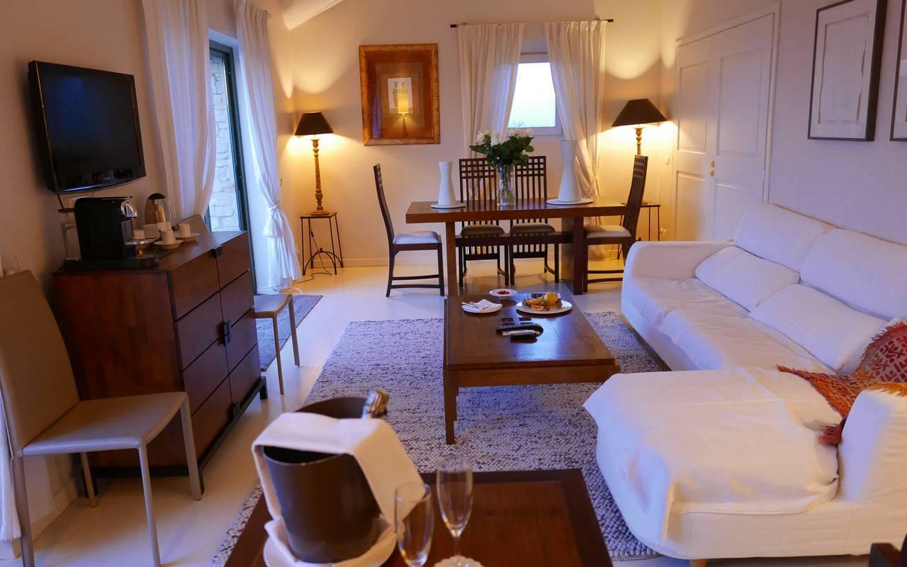Vacances en couple hôtel de luxe à Gordes en Provence