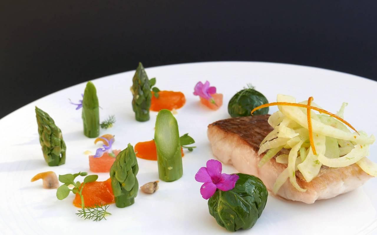 Repas gastronomique restaurant Gordes