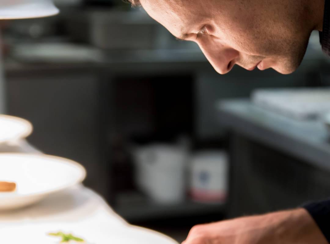 Chef restaurant gastronomique hôtel Les Bories en Provence